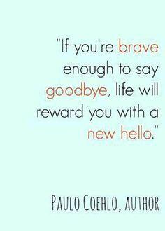 I'm brave enough.