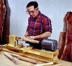 Wood Lathe Steady Rest Plans - Lathe Tips, Jigs and Fixtures | WoodArchivist.com