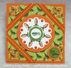 DeNami Colorful Veggies card