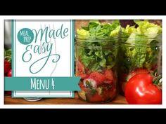 Healthy Meal Prep   Menu 4 - YouTube