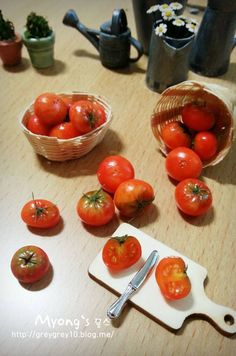 Tomatoes - shiny, some green on them