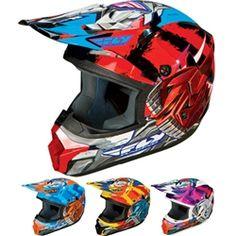 2014 FLY Kinetic Youth Motocross Helmets - Fly-Bot