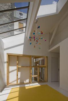 Loft à Paris by Colboc Franzen et Associés