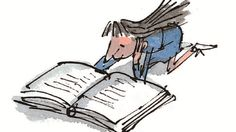 Roald Dahl's Matilda, illustrated by Quentin Blake.