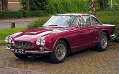 Maserati 3500 GTI – Also known as the Sebring, Launched in 1962... :)