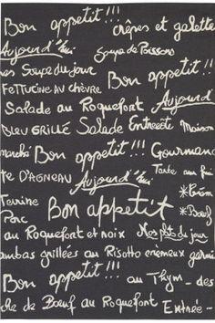 Bon Appetit area rug