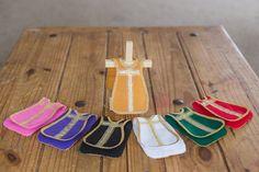 Felt Vestment Set with Gold Ribbon and Wooden by HandmadeByAngelaT