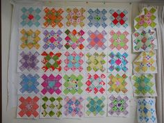 Today is the first day of spring. These itty bitty little daffodils did not seem. Granny Square Quilt, Granny Squares, First Day Of Spring, Quilt Top, Quilt Patterns, Scrap, Sewing, Create, Heart