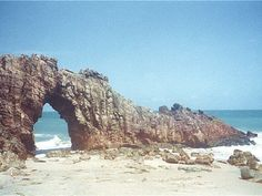 Pedra Furada Jericoacoara Brazil