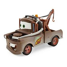 Disney Mater Die Cast Car - Cars 2   Disney StoreMater Die Cast Car - Cars 2 - The rusty old tow truck embarks on an exciting new adventure in <i>Cars 2</i> where he gets mistaken for an American secret agent. This detailed Mater Die Cast Car features the headset he wears as part of Lightning McQueen's pit crew!