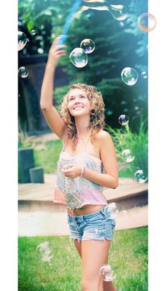I wanna capture real bubbles in one of my pics!