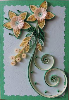 Nice Floral Arrangement - by: QuillAna