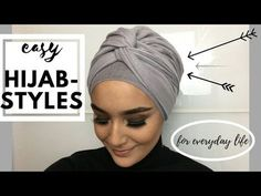 Easy Turban Styles For Everyday Life (Hijab) - YouTube