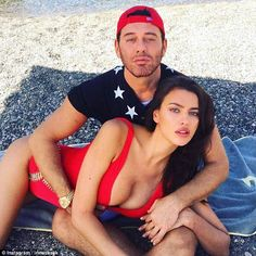 Watch out Pammy! Irina Shayk continued to please her 6.7million followers on Monday, as she shared a racy swimsuit snap