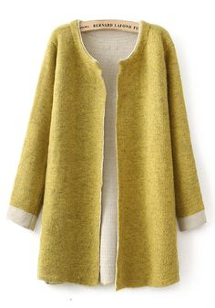 Ginger Plain Long Sleeve Cardigan