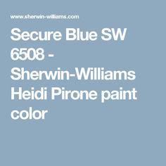 Secure Blue paint color SW 6508 by Sherwin-Williams. View interior and exterior paint colors and color palettes. Get design inspiration for painting projects. Blue Paint Colors, Exterior Paint Colors, Cabinet Paint Colors, Painting Kitchen Cabinets, Periwinkle, Interior And Exterior, Design Inspiration, Living Room, House
