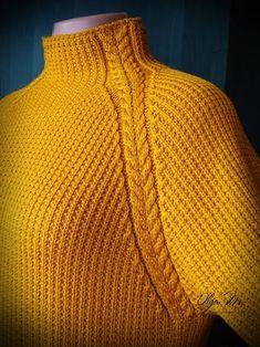 Popular Crochet Little Black Dress Tutorial - Craft & Patterns Knitting Paterns, Knitting Designs, Knitting Stitches, Knitting Needles, Knit Patterns, Free Knitting, Baby Knitting, Gilet Crochet, Knit Crochet
