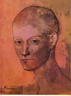 Cabeza de hombre joven - Pablo Picasso