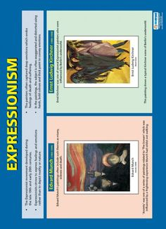 Expressionism | Art & Design Educational School Posters