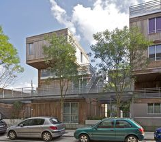 Housing Construction   Tania Concko   Architects Urbanists  EURALILLE 2 - LOT 1B Photograph © Philippe Ruault