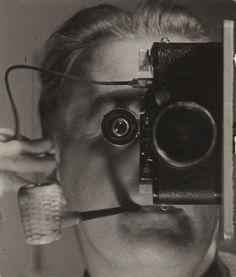 Maurice Tabard, Self-Portrait, Juan-les-Pins 1936