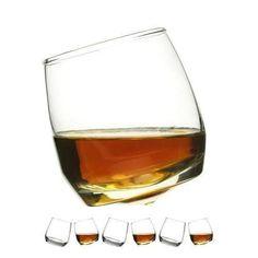 Rocking Whiskey Tumbler Glasses