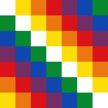 What does the Bolivian flag look like? Bolivia may be one of the only countries in the world that officially has 2 national flags. Sun Tzu, Rainbow Flag, Flags Of The World, National Flag, Free Paper, Oeuvre D'art, Custom Stickers, Fine Art Prints, Banner