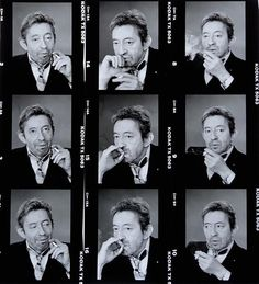 "© Michel Giniès - ""Neuf fois Gainsbourg"" - 1989 Serge Gainsbourg, Gainsbourg Birkin, Provocateur, Photos Rares, Only Lovers Left Alive, French Collection, Jane Birkin, Beatnik, Michel"