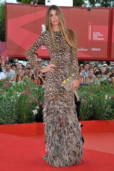 Bianca Brandolini en Giambattista Valli haute couture