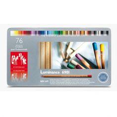 Caran d'Ache Luminance színesceruza készlet - 76 db
