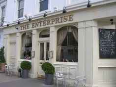 The Enterprise Bar, 35 Walton St, Chelsea.