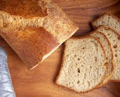 Gluten Free Loaf Bread, no gums (uses psyllium seed husk) Flour: 2 parts sorghum flour, 2 parts tapioca flour, 1 part potato starch, and 1 part almond meal