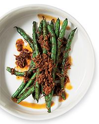 Blistered Green Beans with XO Sauce Recipe on Food & Wine