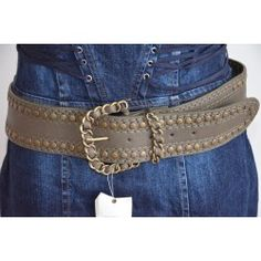 Morgan dámský pásek tmavě hnědý T2; belt