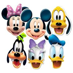 Mickey Mouse Clubhouse Characters Faces   Clipart Panda   Free Clipart