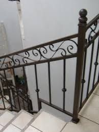 Resultado de imagen para barandales de escaleras de herreria