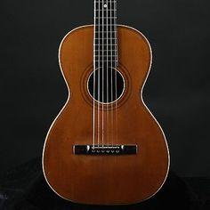 Vintage 1890 1900 GR Martin Parlor Acoustic Guitar G R Natural