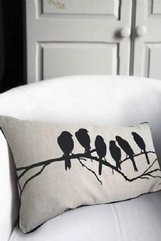 Hand paint pillow