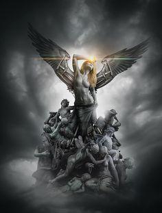 'Jagged Seraphim', Dean Samed, Conzpiracy Digital Arts