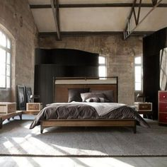 57 Stylish Masculine Bedroom Design Ideas