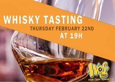 Paris Food & Drink Events: Whisky Tasting February 22 @ 19:00 - 22:00	€30