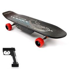 Electric Skateboard 'E-Street Board' - 150W Motor, 24V 10000mAh Battery, 10KPH Speeds, 65KG Max Load. 'E-Street Board' with Wireless Controller  The 'E-Street Board' electric skateboard is very similar to a standard, non-motorized skateboard but with the additions of a 150 watt motor and a 100...