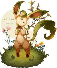 Leafeon/#1935720 - Zerochan