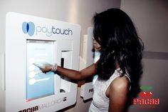 Do you wanna #touchPacha? Pay and let in with your fingerprints.
