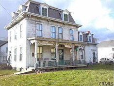 """1845 Second Empire – Hoosick Falls, NY – $47,500 Property Info Agent Info & MLS Maps 73 Elm St, Hoosick Falls, NY 12090 Price: $47,500 Listing Status as of 11/27/12: Active** Historic Register Status: Taxes 2011: $5731** Beds: 9 Bath: 2 Square Feet: 2600 Acres: .12 References: Trulia, Zillow Additional History: Posted on: 11/27/12 Last Updated: 11/27/12 Description from the listing: Here's your 2013 """"project"""". A166 year old Victorian with some really cool original details waiting to be…"""