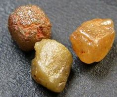 Identifying Raw And Rough Gemstones | Precious Gems From Antiquity: Diamonds, Amber, Opals