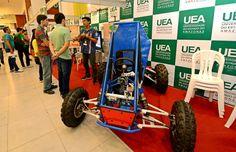 Engenharia – Alunos da UEA realizam teste de Carro Off-road que vai participar de competição Nacional