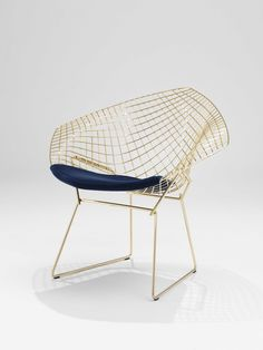 Diamond Chair by Harry Bertoia for Knoll, Salone Del Mobile 2016 | #Milantrace2016