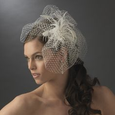Stunning collection of bird cage veils and fascinators at ...