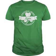 I Love Logan Saint Patricks Day Tee Shirt For Logan  T shirts